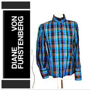 Diane Von Frustenberg silk shirt